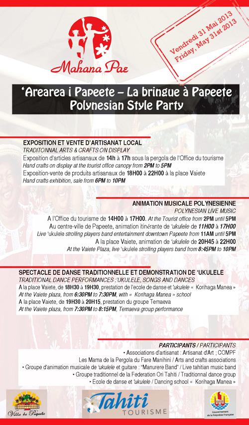 Le site officiel de la ville de papeete - Declaration en mairie des meubles de tourisme ...